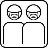 picto deux perso masque